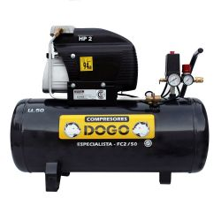 Compresor Dogo 2 HP 50 Lts Especialista Monofásico DOG50335 i450