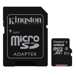 Memoria Kingston Canvas Select MicroSDXC 128 GB 80 MB/s i450