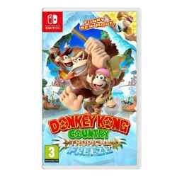 Juego Donkey Kong Country Tropical Freeze i450