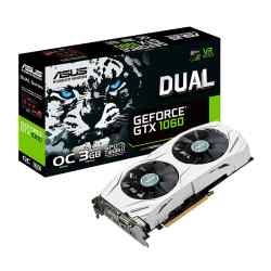 Placa de video Asus Dual GTX 1060 3 GB OC i450
