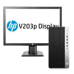 PC Prodesk 600 G3 i3 4 GB 500 GB + Monitor HP 19.5p Y3E02AV i450