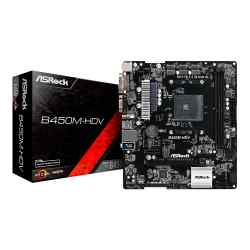 Mother Asrock B450M-HDV S. AM4 i450