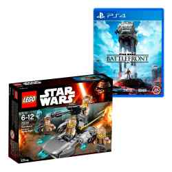 Juguete Lego Star Wars Confidential + Juego Star Wars: Battlefront i450