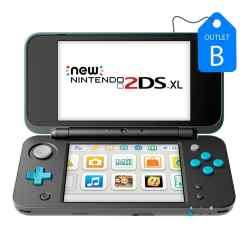 Outlet B - New Nintendo 2DS XL Turquesa i450