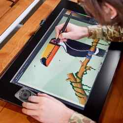 Tableta Wacom Cintiq Pro 24 Touch Ultra HD 4K DTH2420K1 i450