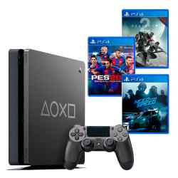 PS4 Slim 1 TB Days of Play + Need for Speed + PES 2018 + Destiny 2 i450