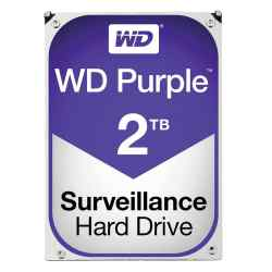 Disco Rígido WD Purple 2 TB 5400rpm WD20PURZ i450