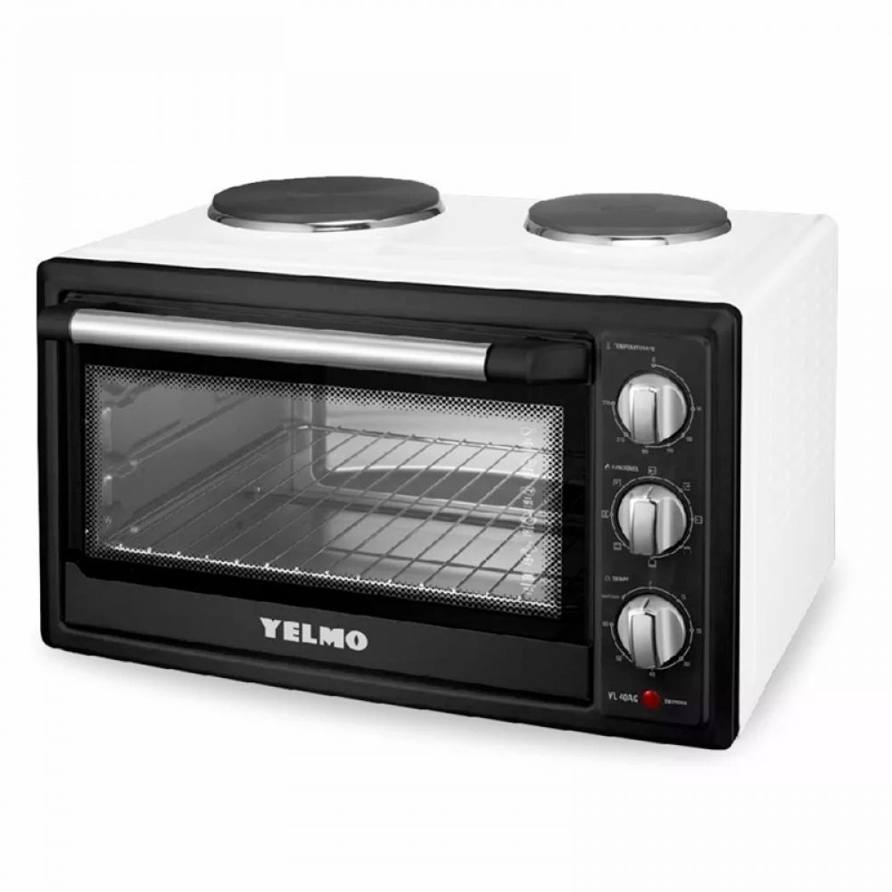 Horno Eléctrico Yelmo 40 Lts Doble Anafe YL-40AC img 1