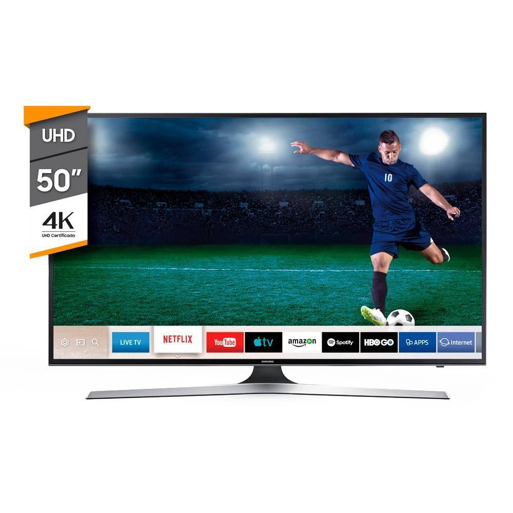 Smart TV Samsung 50p Led UHD 4K MU6100 img 1