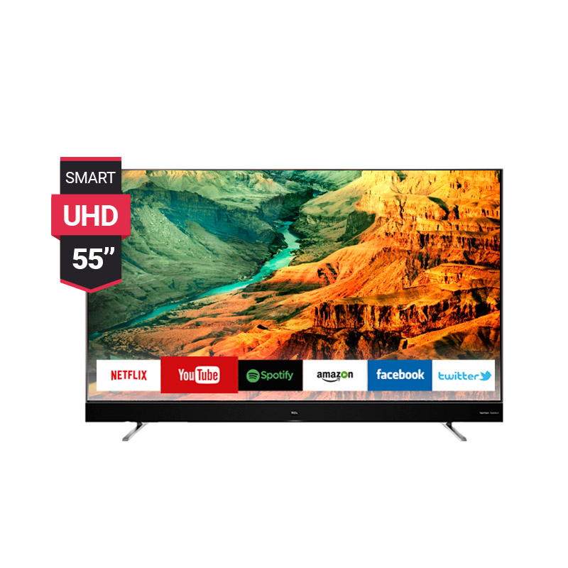 TV Smart TCL 55p. Led UHD 4K Android TV img 1