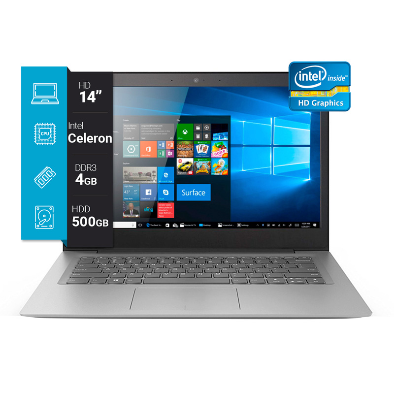 Notebook Lenovo 14p IdeaPad 320 Win 10 img 1