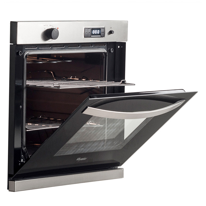 Horno Empotrable Whirlpool a Gas 68,5 Lts con Grill WOA61AR img 3