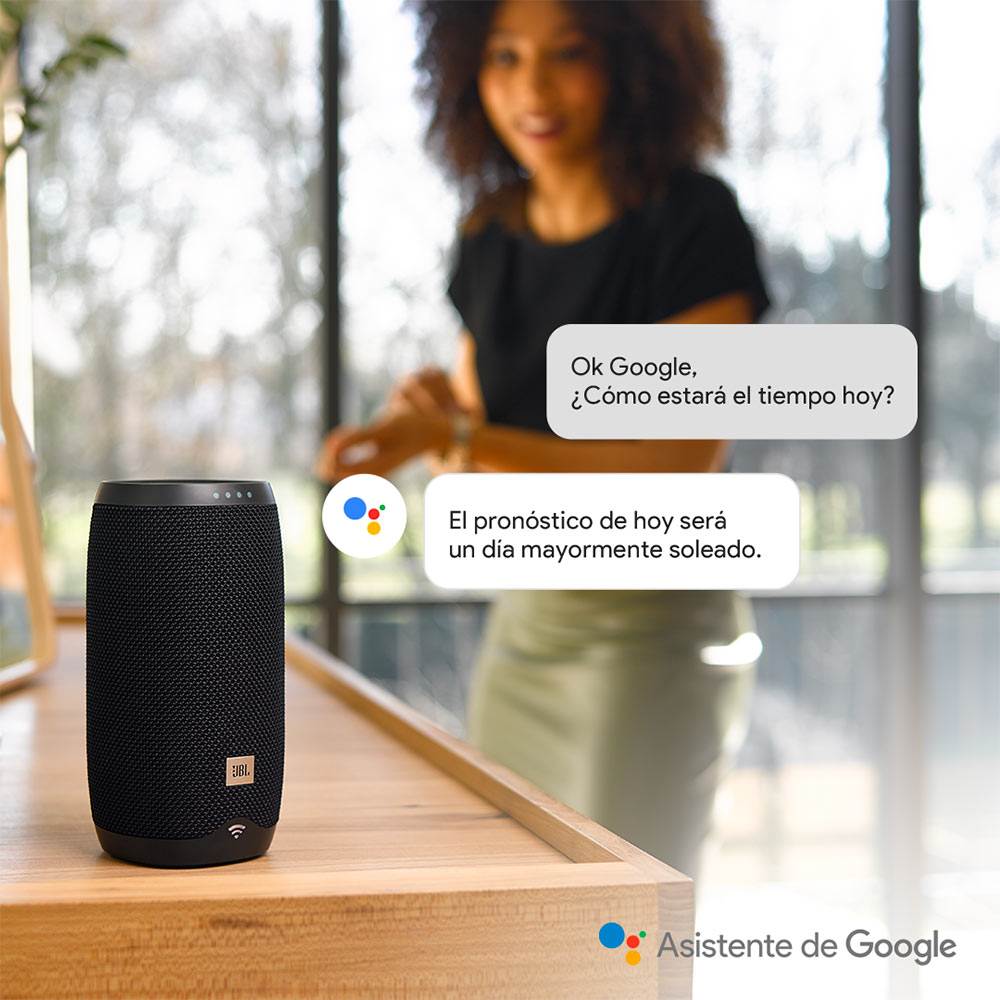 Parlante JBL Link 10 Inalámbrico Google Assistant img 2