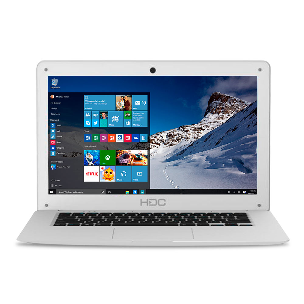Notebook HDC CloudBook 14.1p Celeron 3 GB 32 GB Win 10 img 1